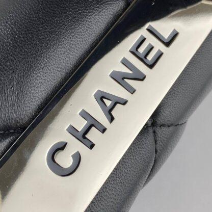 chanel canta trendy coco siyah silver aksesuar 26x20 cm