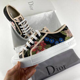 christian dior ayakkabi walk n floral sneaker cicek desen