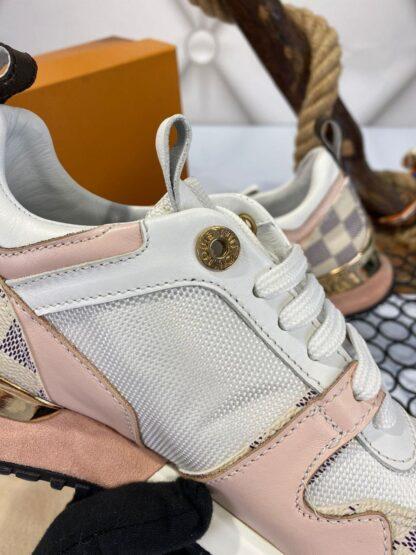 louis vuitton ayakkabi sneakers beyaz pembe ithal