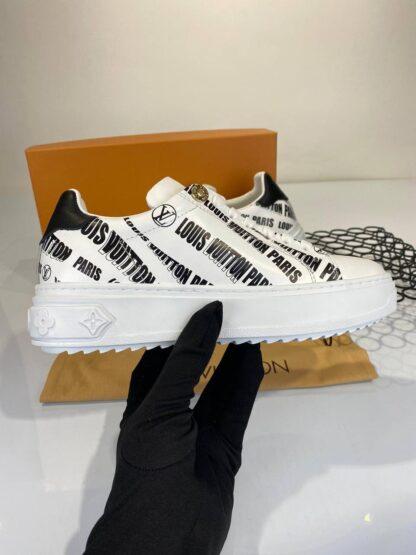 louis vuitton ayakkabi sneakers timeout beyaz siyah