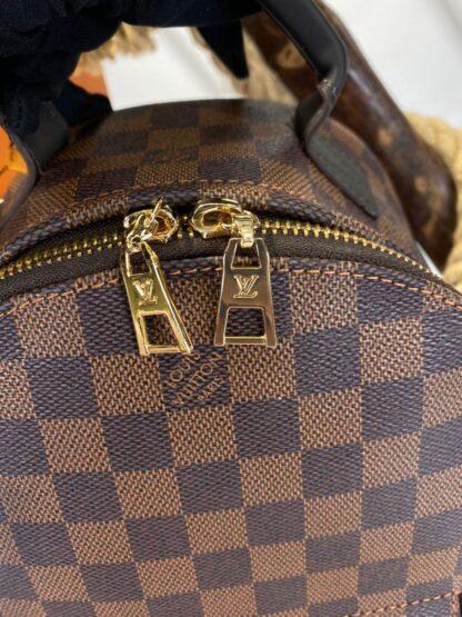 louis vuitton canta palm springs backpack orta boy sirt kahve damier 23x26 cm