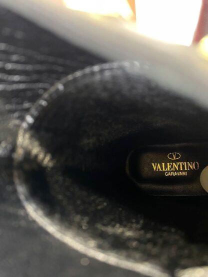 valentino bot zimbali siyah ic dis hakiki deri